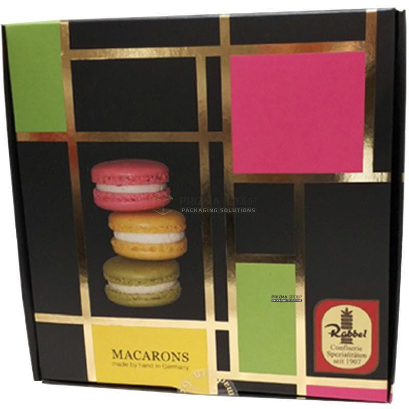 Упаковка для Macarons Rabber