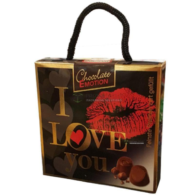 Упаковка для шоколадных кофет Chocolate Emotion