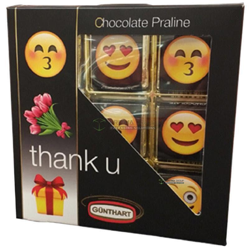 Упаковка для конфет Gunthart thank u
