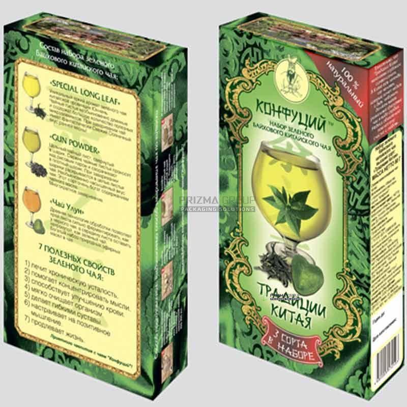 Упаковка для чая Конфуций
