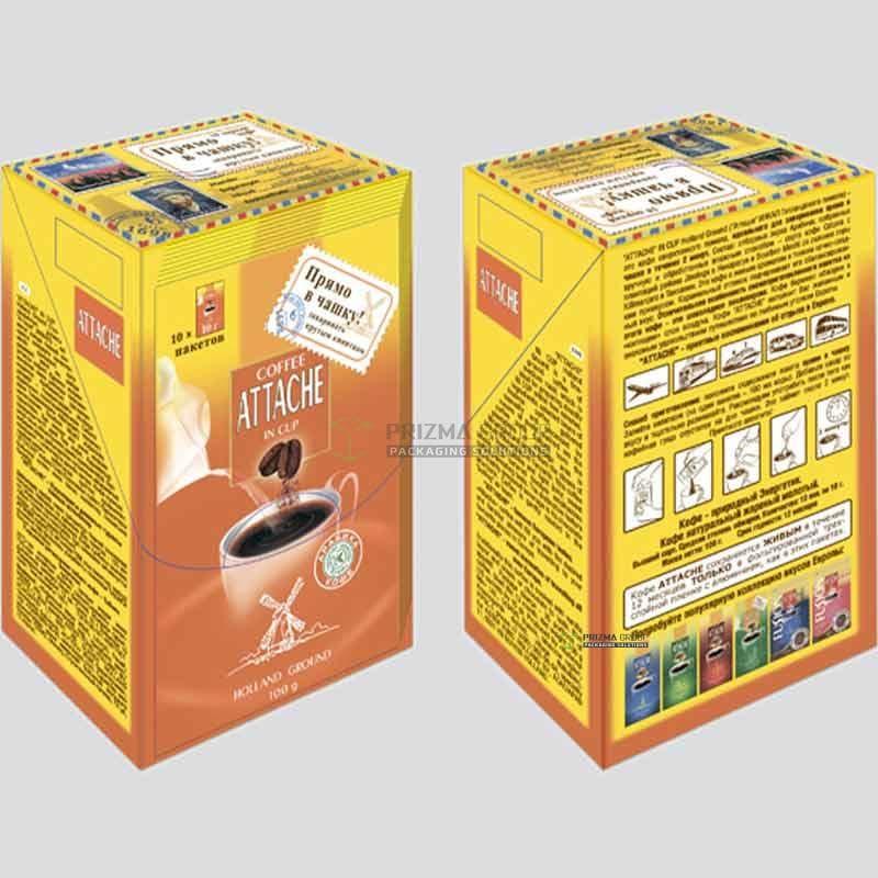 Упаковка для кофе Attache