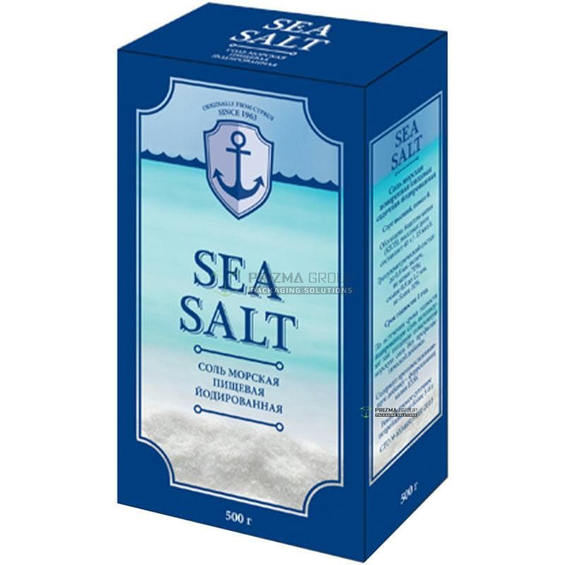Упаковка для соли SEA SALT
