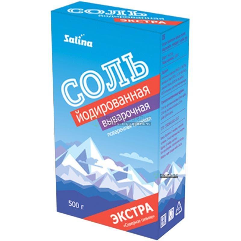 Упаковка для соли Salina
