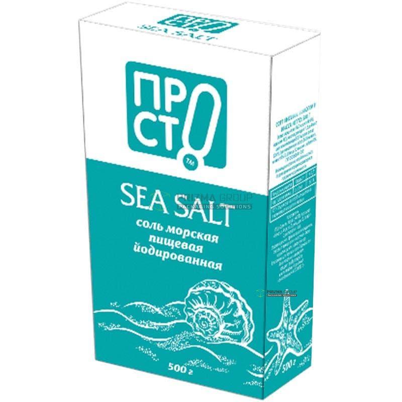 Упаковка для соли ПРОСТО