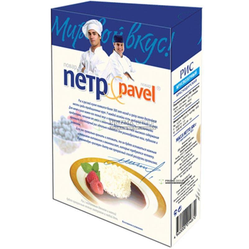 Упаковка для риса Мировой вкус