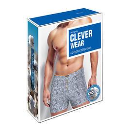 Упаковка для нижнего белья Clever Wear серые боксеры