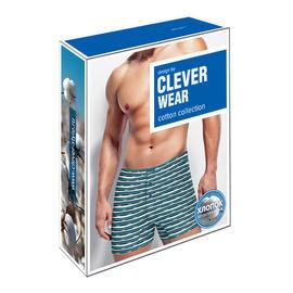Упаковка для нижнего белья Clever Wear цветные боксеры