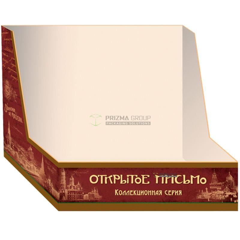 Упаковка для конфет Открытое письмо