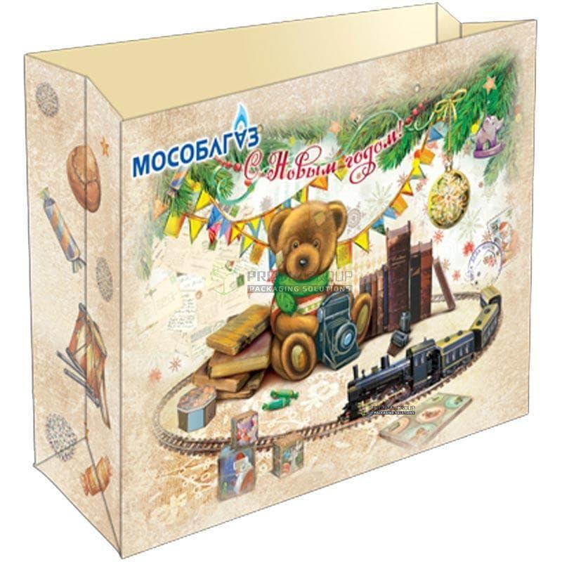 Бумажный пакет Мособлгаз