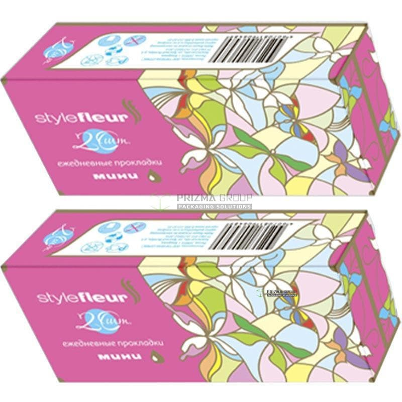Упаковка для ежедневных прокладок Stylefleur