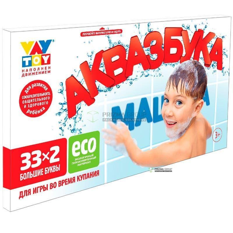 Упаковка для игры АКВАЗБУКА