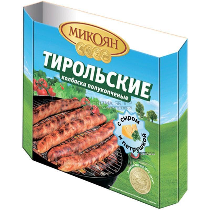 Шубер карпатские колбаски полукопченые Микоян