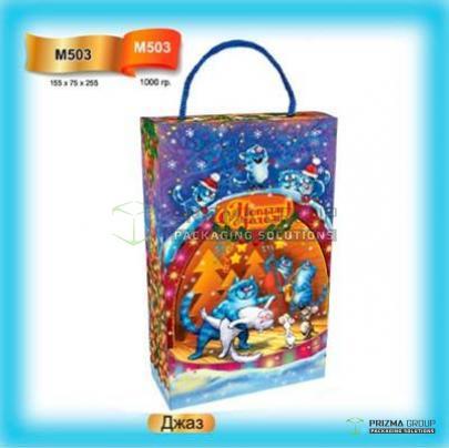 Пакет «Джаз» для новогодних подарков