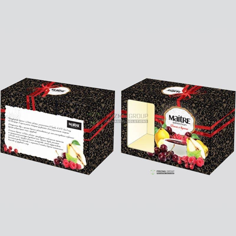 Упаковка для варенья Maitre