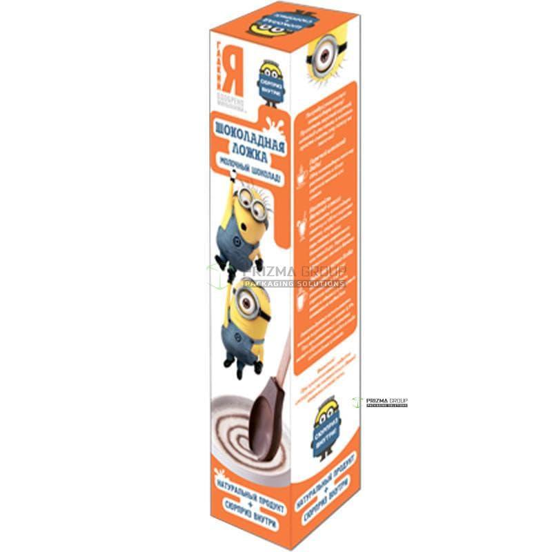 Упаковка для шоколадной ложки