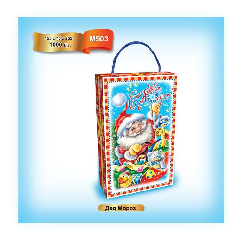 """Упаковка для подарка """"Дед Мороз"""""""