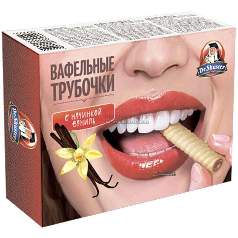 Упаковка для вафельных трубочек Dr Shuster