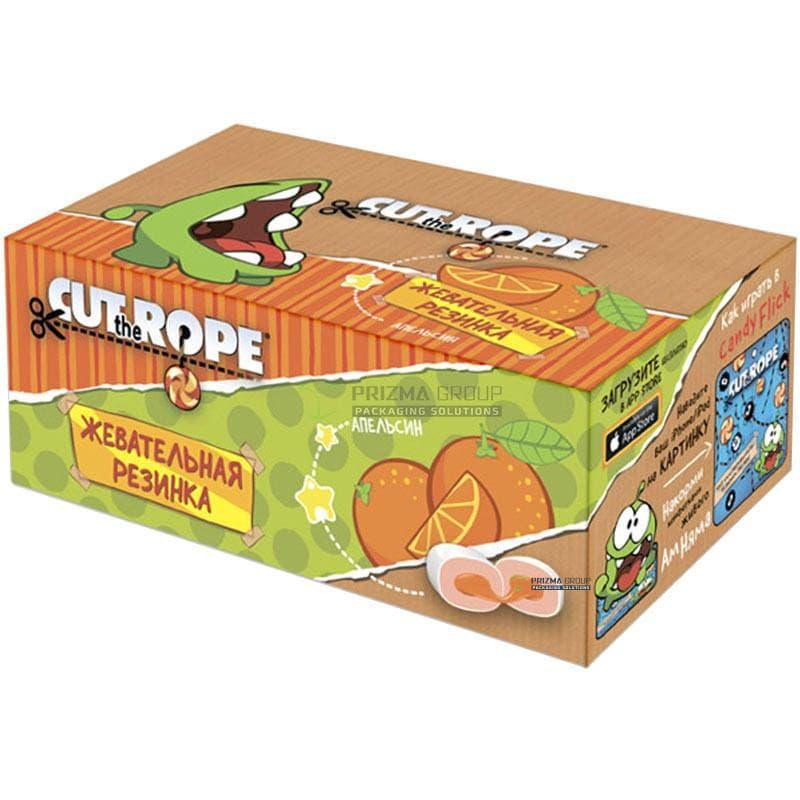 Упаковка для жевательной резинки Cut the Rope