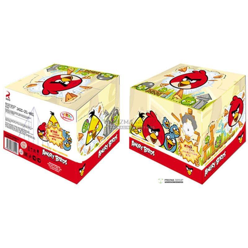 Упаковка для сладостей Angry Birds