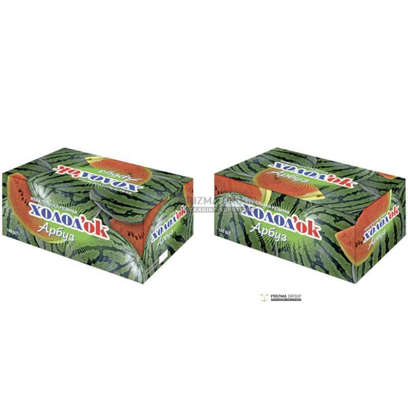 Упаковка для жевательной резинки Холодок