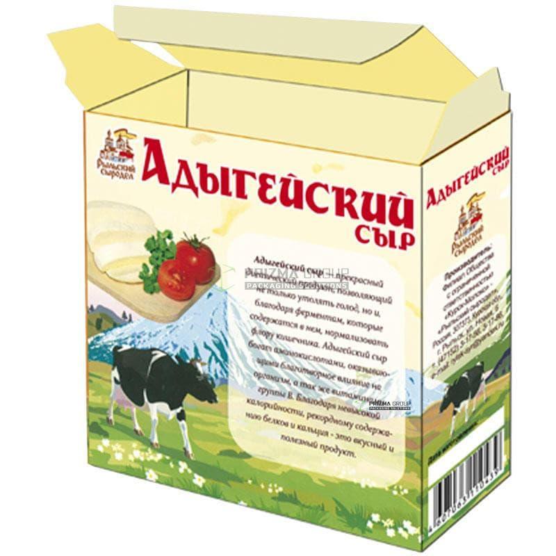 Упаковка для Адыгейского сыра