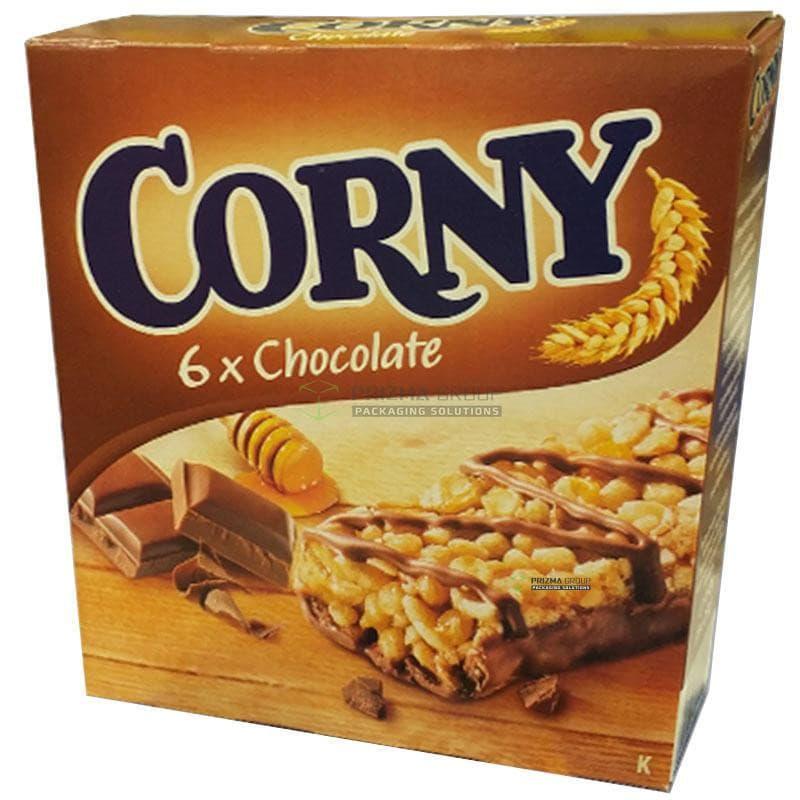 Упаковка для злаковых батончиков Corny